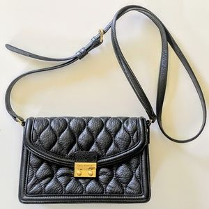 Used Vera Bradley leather quilted crossbody